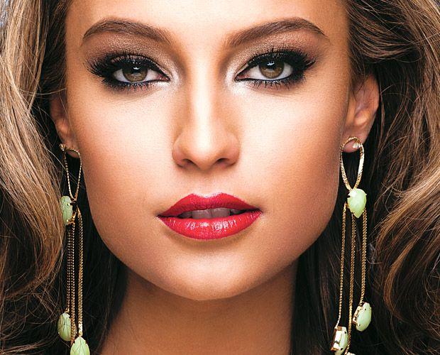 : Lipsticks, For Marriage, Makeup Para, Maquiagem Pronta, Makeup For, Festa Black-Ti, For Party, Blog De,  Lips Rouge