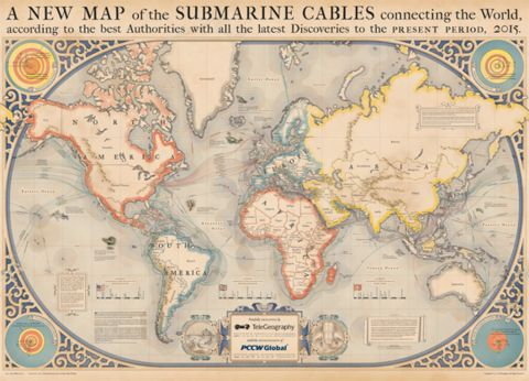 2015 Submarine Cable Map
