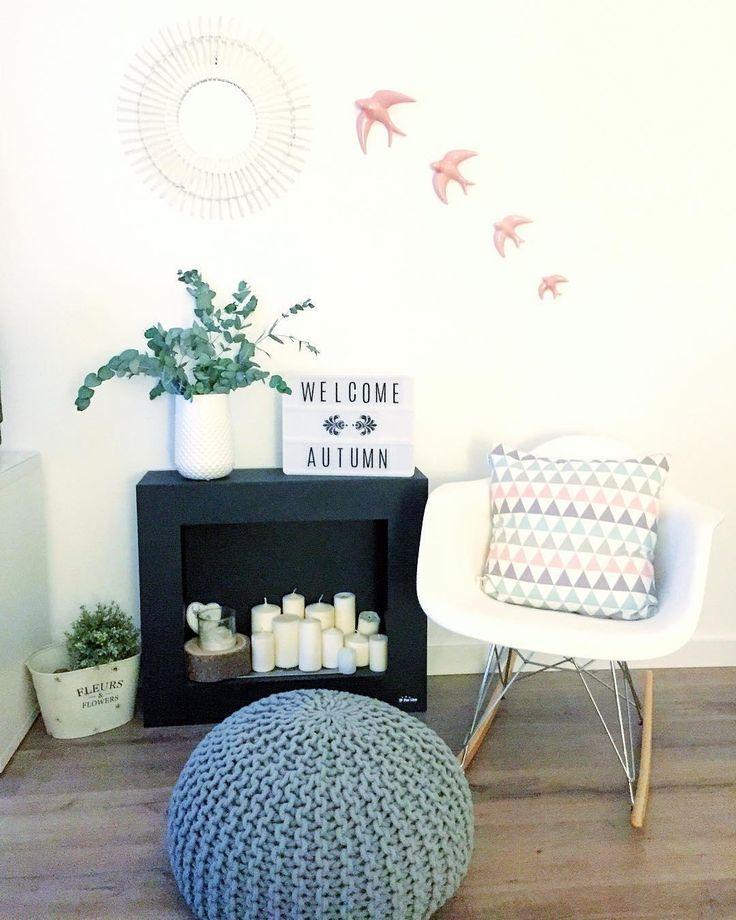 die besten 25 kerzen in kamin ideen auf pinterest kerze. Black Bedroom Furniture Sets. Home Design Ideas