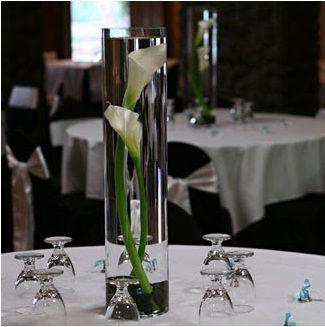 simple elegant wedding decorations | Simple and Elegant Calla Lily Wedding Centerpieces | Budget Brides ...