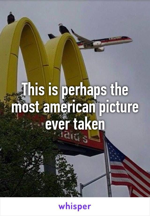 This is perhaps the most american picture ever taken http://ibeebz.com