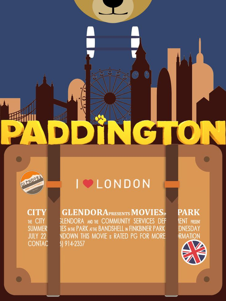 2015 Summer Movie in the Park | Paddington