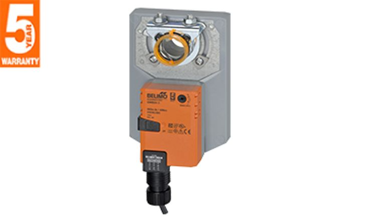 Động cơ điều khiển không có lò xo phản hồi loại  180 in-lbs (AM Series)
