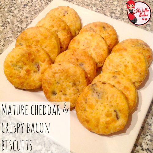 Cheddar and Crispy Bacon Biscuits recipe. | food | Pinterest | Cheddar ...