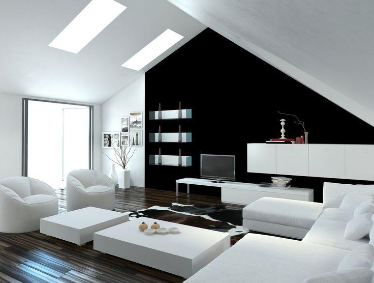 Algo que nunca pasa de moda es la mezcla de colores negros y blancos, lo que da un toque de elegancia y sobriedad a cualquier espacio. #NuestroLadoDeco #deco #decoracion #diseño #modernidad #paredes #colores #arquitectura #vivienda #estrenarvivienda