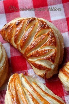Chaussons compote de pommes maison facile