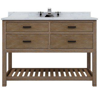 """View the Sagehill Designs TB4821D Toby 48"""" Vanity Cabinet Only With Four Drawers at Build.com."""