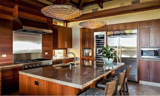 Pin de griss moreno en casa interiores casas mansiones for Cocinas integrales modernas de lujo