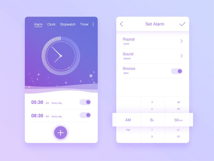 Alarm by Terry_Chan #Design Popular #Dribbble #shots