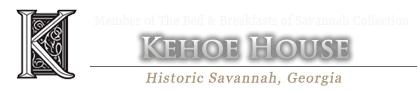Enjoy our Historic Savannah Bed and Breakfast - The Kehoe House Savannah Inn