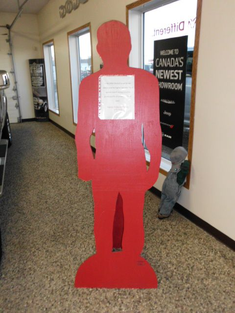 """""""In the 2004 General Social Survey, Alberta had the highest reported rate of spousal assault among Canadian Provinces. 10% of woman and 7% of men."""" Red Silhouette Campaign"""