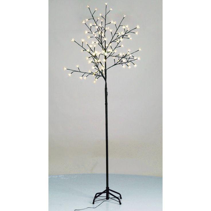Cseresznyevirág LED Fa Sárga Fény 210cm
