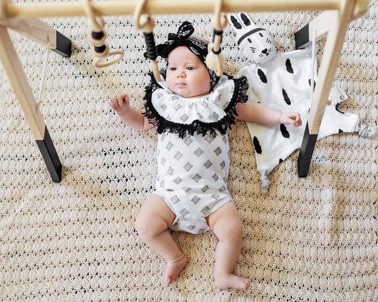 Frankie Jones The Label editorial: Mandala Ruffle Romper - romper suit - onesie - Baby Style | Baby Outfit | Baby Fashion | Boho Baby