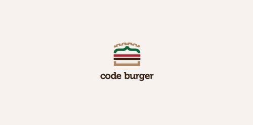 Code Burger logo