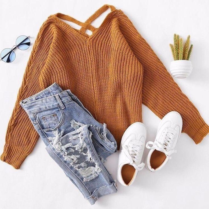 fashion, autumn, and jeans image – #Autumn #Fashio…