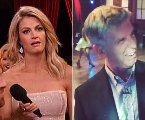 Erin Andrews Mocks 'Eye Roll' In New Video With Tom Bergeron — Watch