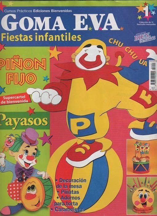 Revista para Fiestas Infantiles en goma eva
