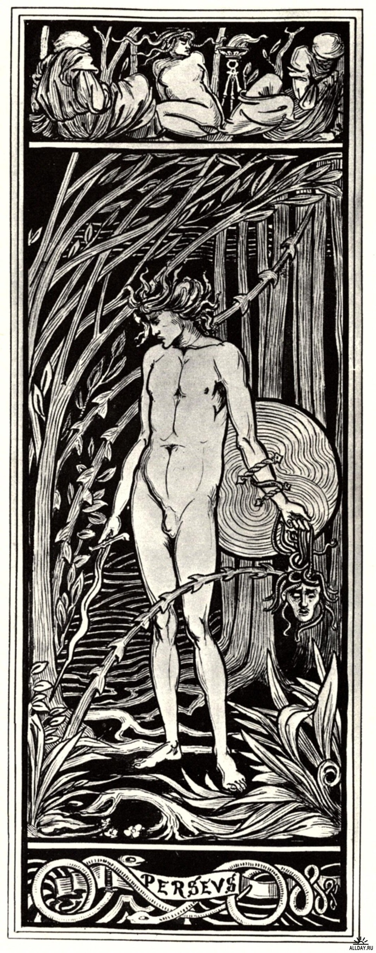 Sex and Sensibility: The Allure of Art Nouveau.  British artist  Aubrey Beardsley: