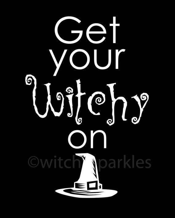 witchy                                                                    I will put this on my wish list!!! ; )