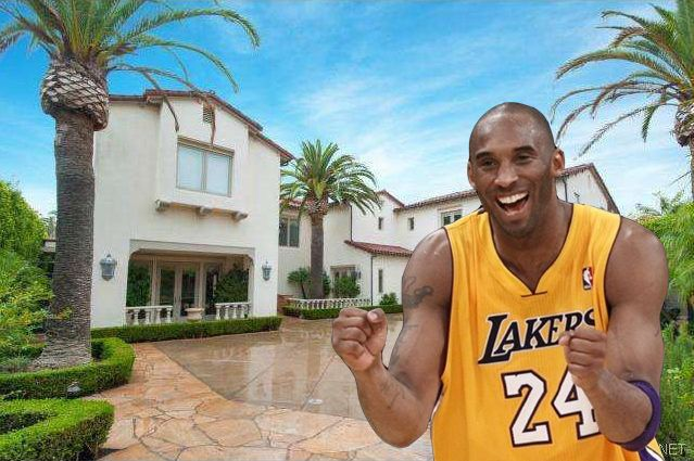 Kobe Bryant's 'United States of Generica's mansion my daughter is named kobe..after seeing Kobe bryant on UK tv back in 1999.