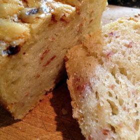 Šunkovo-cibulový chlebík