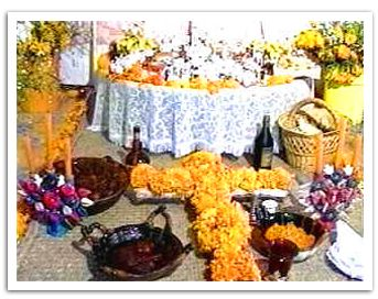 La ofrenda  The Day of the Dead Offering