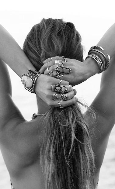 ➳➳➳☮American Hippie Bohemian Boho Bohéme Feathers Gypsy Spirit Bizu Baroque Tati Tati Style - b&w