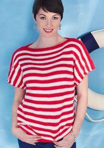 Caron International | Free Project | Women's Boatneck Top