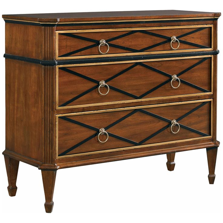 CTH Sherrill Occasional Brighton Medium Brown Drawer Chest