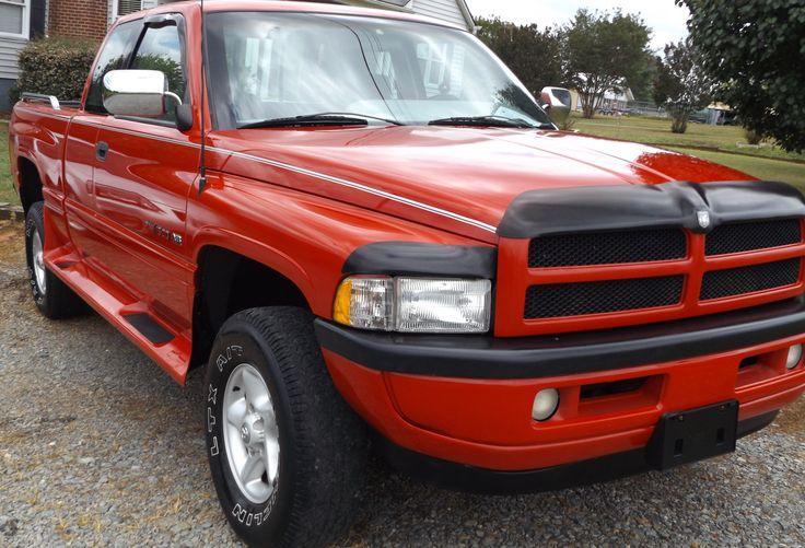 1996 Dodge Ram 1500 Laramie SLT, 4 x 4