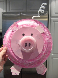 Toddler Approved! pig craft -- 3 little pigs