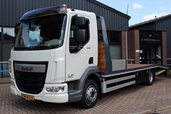 Daf Lf 230 Oprijwagen Vrachtwagen Transport