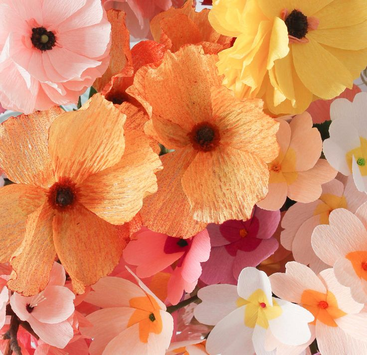 Paper flowers by A Petal Unfolds
