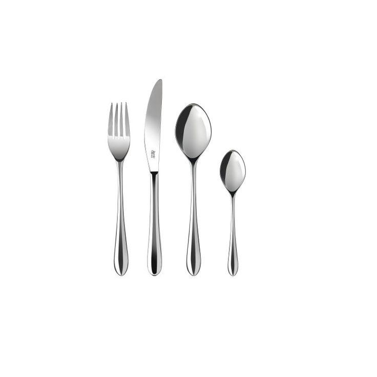 Jamie Oliver Bestickset Everyday 16 delar Rostfritt Stål |Kökets Favoriter