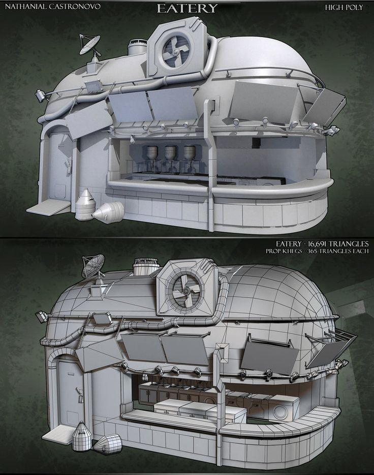Eatery Breakdown by natetheartist on deviantART