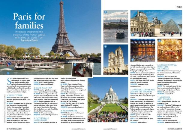 french travel brochure august 2016 issue of france magazine out now