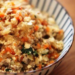 【砂糖不使用】野菜たっぷり!簡単炒り豆腐 by りょーーーこさん | レシピブログ - 料理ブログのレシピ満載!