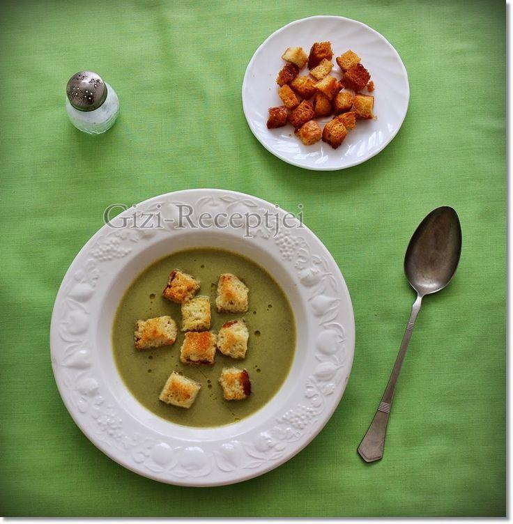 Gizi-receptjei.  Várok mindenkit.: Sárgarépás medvehagyma-krémleves.