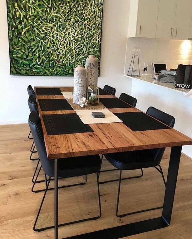 20 Best Modern Industrial Dining Furniture Set De De Dining