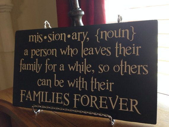 Missionary+Definition+plaque+by+VinylizedCrafts+on+Etsy