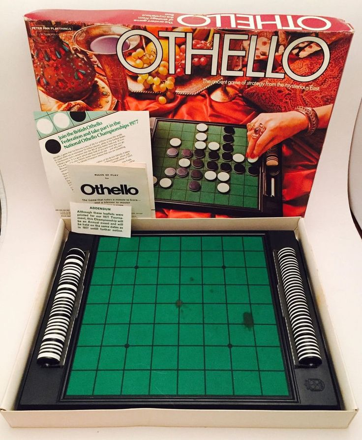 1976 Othello Ancient Strategy Game from the East, Peter