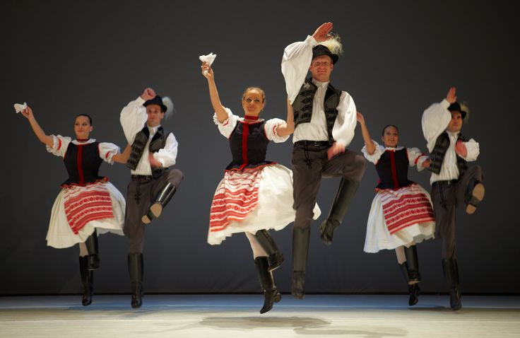 The choreographies are all based on authentic dances, some of them were collected in isolated villages with dance elements dating back hundreds of years.
