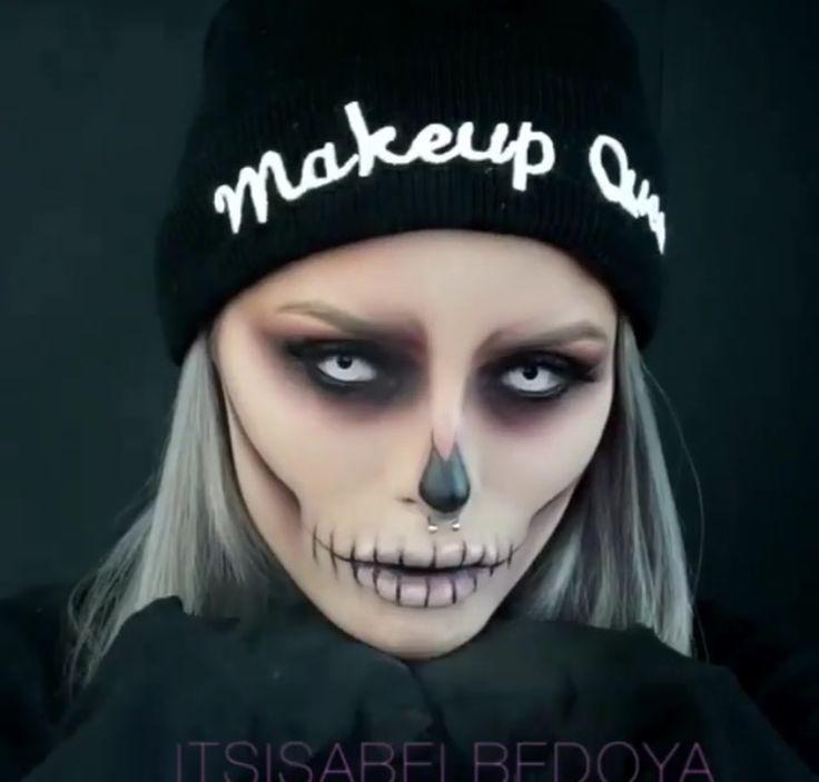 40 maquillages d'Halloween tellement terrifiants qu'ils feront hurler ceux que vous croiserez - page 3