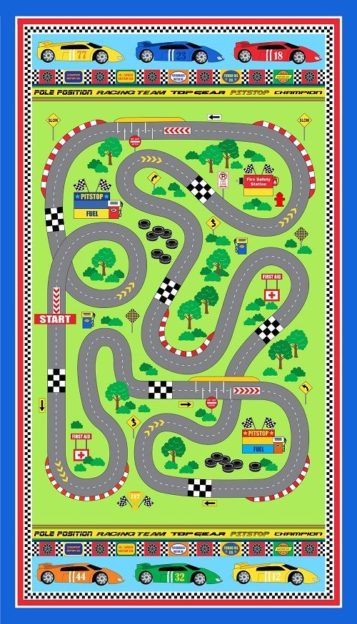 17 best images about car play mat on pinterest toys for Train themed fabric