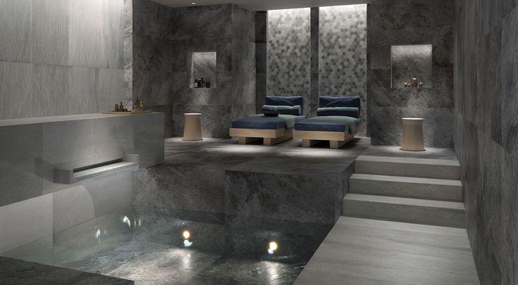 oltre 1000 idee su fliesen steinoptik su pinterest. Black Bedroom Furniture Sets. Home Design Ideas