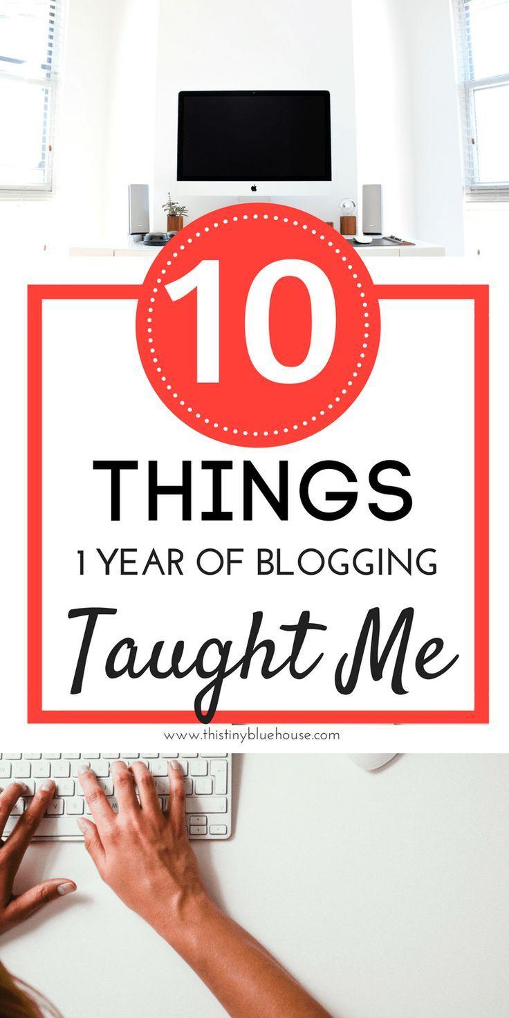 10 lessons blogging taught me with BONUS tips for new bloggers #blogging #bloggingtips #sidehustle #momblogger #frugallivingblogger