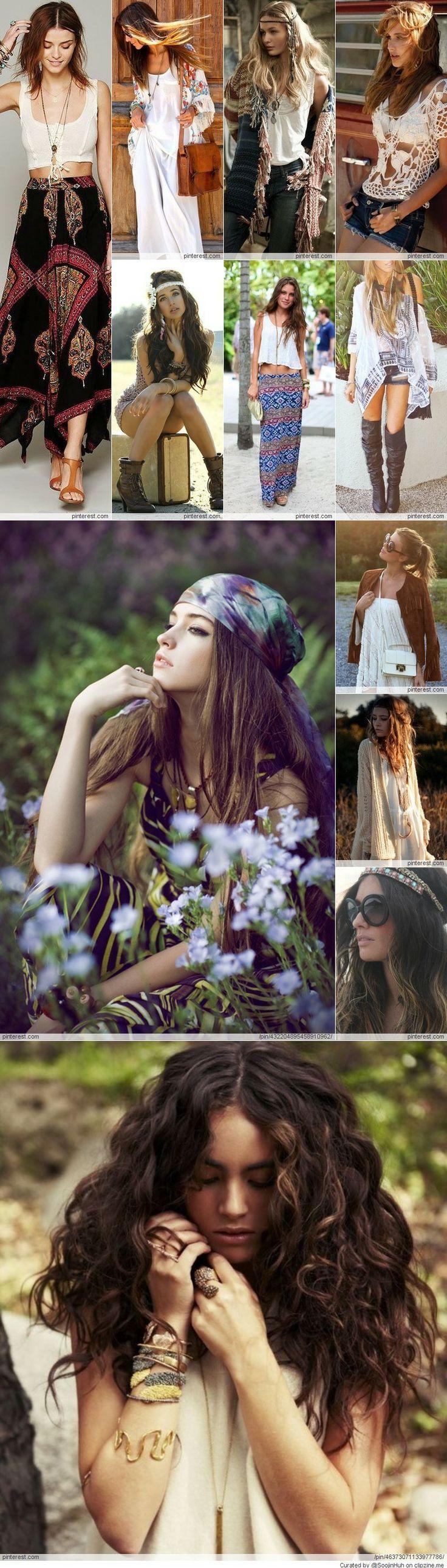 Assez 151 best boho images on Pinterest | Boho chic, Bohemian style and  QH82
