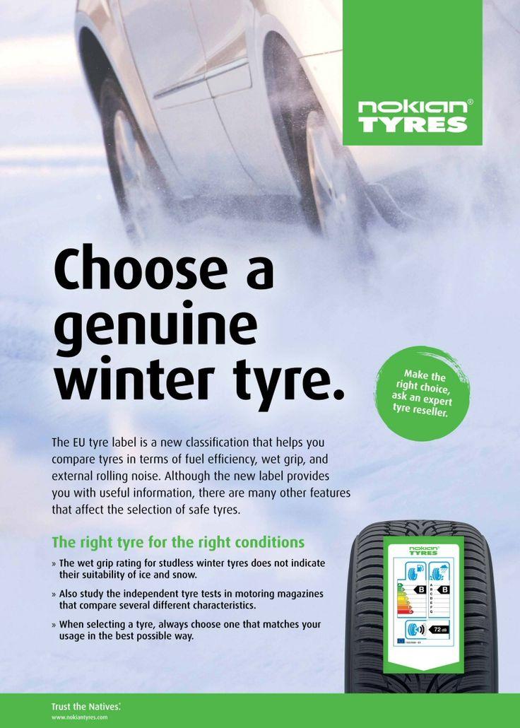 Nokian explique : le pneu hiver et l'étiquetage pneus