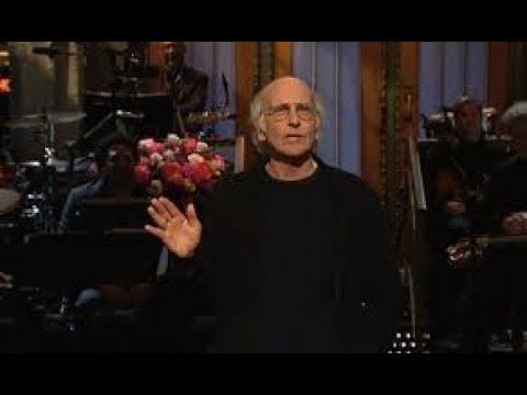 Larry David Hits 'SNL' With Camp Jokes