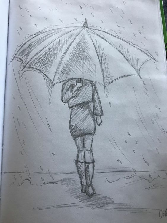 Zeichnung; Skizzieren; Strichmännchen; Bleistiftzeichnung, Mal-Tutorial; Einfaches Zeichnen